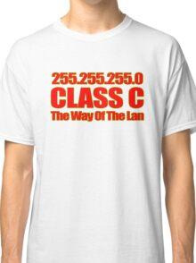 Subnet mask 255.255.255.0! Classic T-Shirt