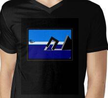 Alice Springs Pool Mens V-Neck T-Shirt