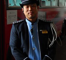 Tokyo Bus Driver. by iansimages