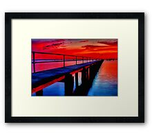 """Dawn at Griffin's Gully"" Framed Print"