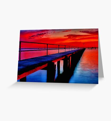"""""""Dawn at Griffin's Gully"""" Greeting Card"""
