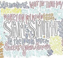 Sam Smith by wowords-ig