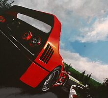 F40 @ the 'ring by Pendlehyll