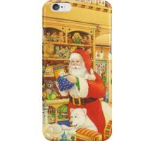 The Christmas Bear - Santa's Storeroom iPhone Case/Skin