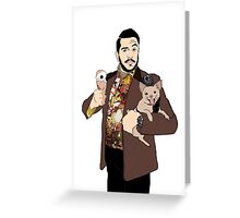 Sal Vulcano Impractical Jokers Greeting Card
