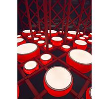Red Drums Photographic Print