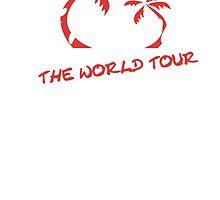 """DJ Roomba """"World Tour"""" Merch T-Shirt by Matthew Quinn"""