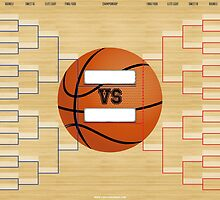 March Basketball Bracket by SportsSwagg