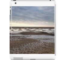 Empty beach, evening iPad Case/Skin
