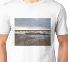 Empty beach, evening Unisex T-Shirt