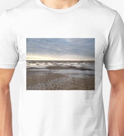 Empty beach, evening Unisex T-Shirt