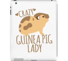 Crazy Guinea Pig Lady iPad Case/Skin