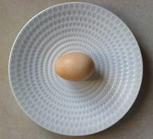 The plate 1 by Carol Dumousseau