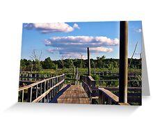 Wetlands Boardwalk Greeting Card
