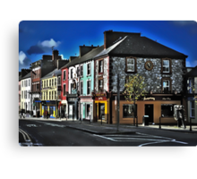 Main Street, Listowel. Canvas Print