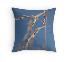 Grain 2 Throw Pillow