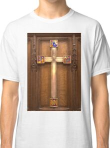 Cross in the Thistle Chapel, St Giles Cathedral, Edinburgh, Scotland Classic T-Shirt