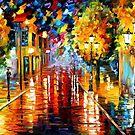 Improvisation Of Lights — Buy Now Link - www.etsy.com/listing/223804063 by Leonid  Afremov