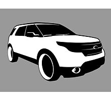 Ford Explorer Photographic Print
