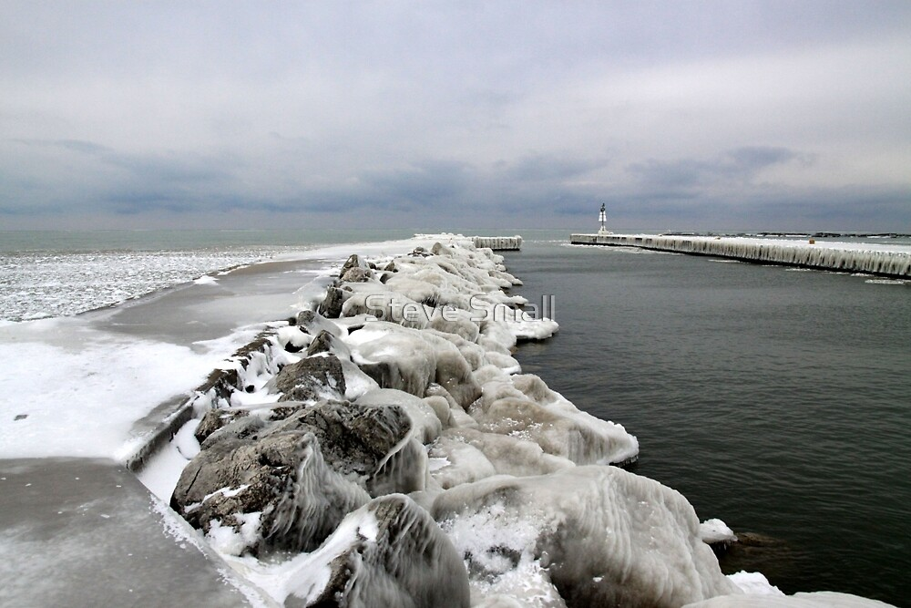 Ice on the Rock's by Steve Small