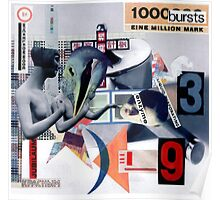 1000000 Bursts. Poster