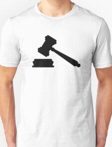 Judge hammer Unisex T-Shirt
