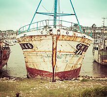 Vintage Fishing Boat III by Joshua McDonough Photography