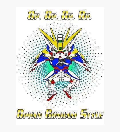 Oppa Gundam Style Photographic Print