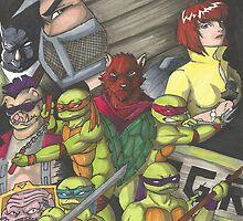 Ninja Turtles by enzoram