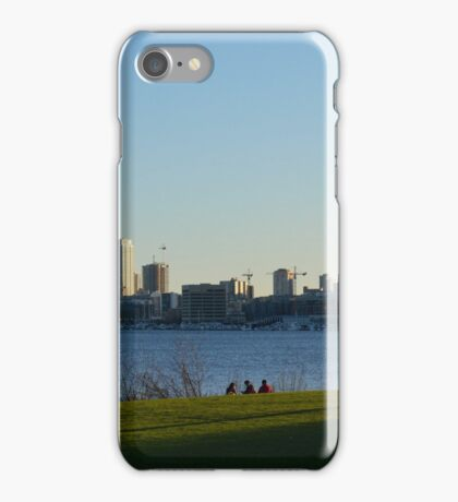Sail Boats in the Sound iPhone Case/Skin