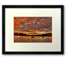 That Magic Moment - Newport - The HDR Series Framed Print