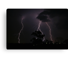 Natures Fury Canvas Print