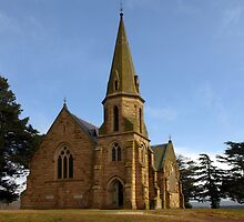 Uniting Church, Ross Tasmania by Bev Pascoe