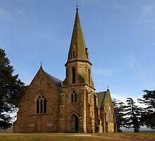 Uniting Church, Ross Tasmania by Bev Pascoe