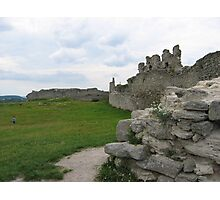 Old castle in Kremenets Photographic Print