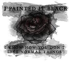Black Rose Photographic Print