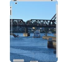 Argosy Cruising the Locks iPad Case/Skin