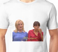 Ann and leslie Unisex T-Shirt