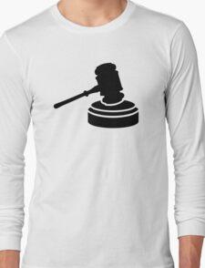 Judge hammer Long Sleeve T-Shirt