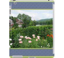 The Bridge of Flowers over the Deerfield River  iPad Case/Skin