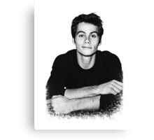 Dylan O'Brien Canvas Print