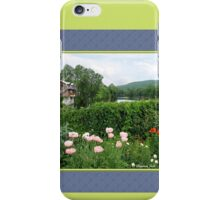 The Bridge of Flowers over the Deerfield River  iPhone Case/Skin
