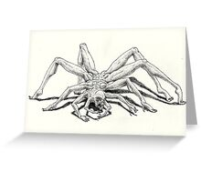 Man-Spider Greeting Card