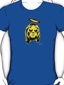 KURT COBAIN ARTWORK yellow T-Shirt