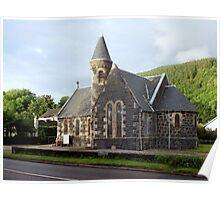 St.Modans Kirk , Benderloch , Scotland Poster