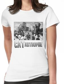 CATastrophe Womens Fitted T-Shirt