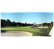 Hilton Head Golf Course sandtrap Poster
