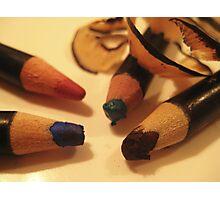 Make Up Series - Pencils Photographic Print