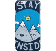 Stay Inside Sticker iPhone Case/Skin