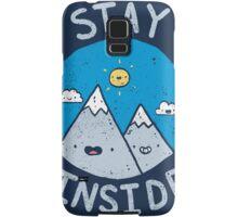 Stay Inside Sticker Samsung Galaxy Case/Skin
